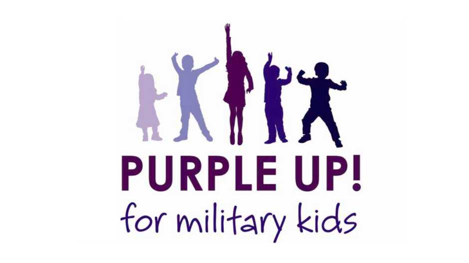 purple up for military kids