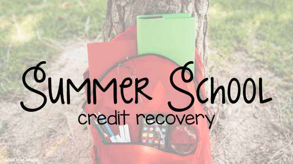 summer school credit recovery