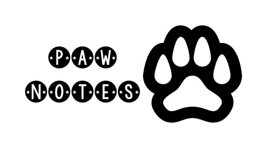 paw notes newsletter