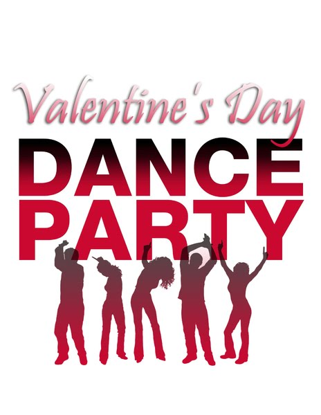 Valentines Day Dance Party banner