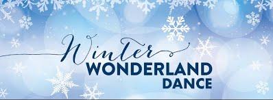 Winter wonderland dance banner