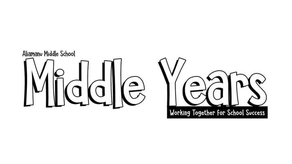 middle years publication