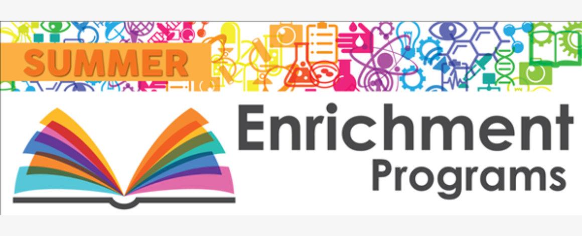 summer enrichment banner