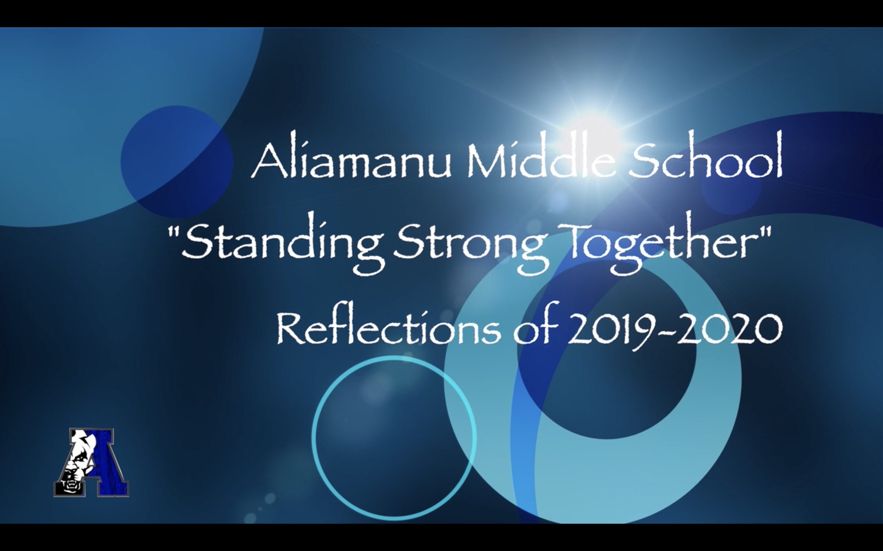 AMS Standing Strong Together reflection video for 2019