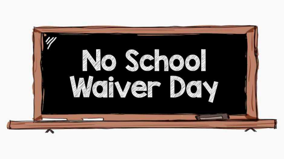 waiver day banner