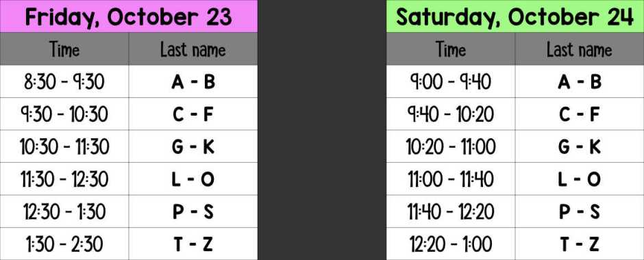 picture-schedule-color 10-23 and 24
